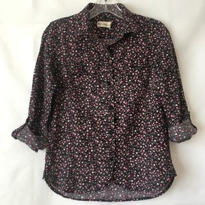 UO By Corpus Floral Button Down